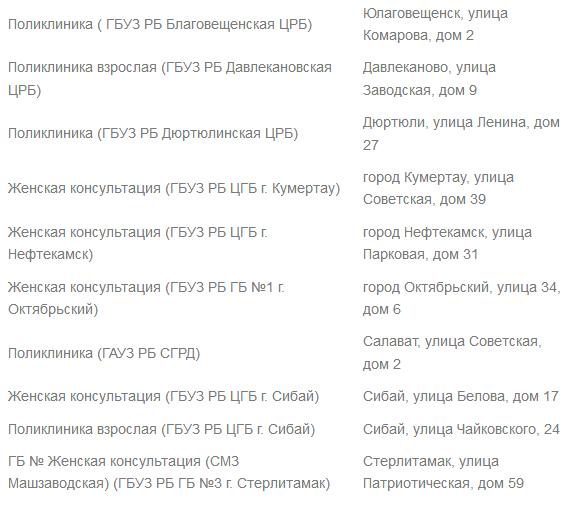 Поликлиники Башкортостан26
